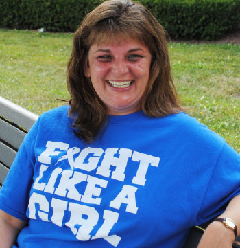 Michelle Baier, colon cancer survivor